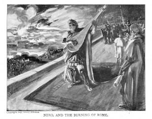 Rome brandt, Nero zingt (Zang, Het mirakel, Harry Mulisch)
