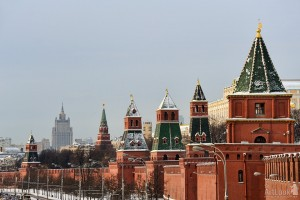 Towers of the Kremlin ©2013 www.Moscow-Driver.com by Arthur Lookyanov