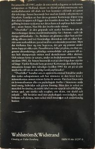 Omslag Zweedse vertaling De aanslag Achterkant